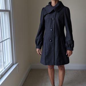 Guess Gray Wool Pea Coat